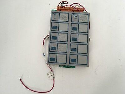 Notifier Icm-4 Fire Alarm Indicating Circuit Board Control Panel