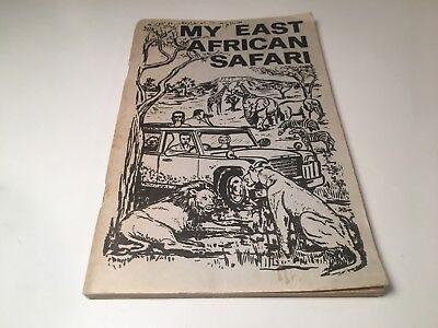 Vintage 1971 My East African Safari Souvenir Guide & Exotic Wildlife Journal 70s