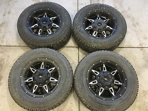 "Grinder 18"" rims with winter tires X4"