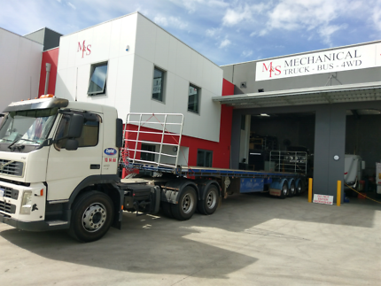 Mechanical service truck & 4wd