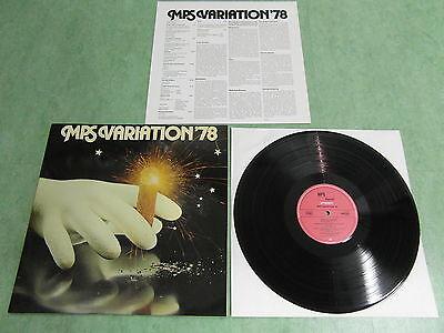 MPS / SABA VARIATION 1978 Sonderpressung Limitiert! Mit Ludwig Hoelscher Mint!