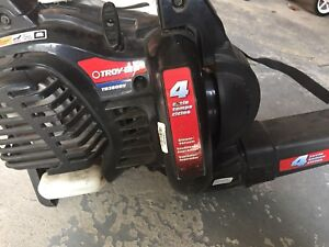 Troy Built leaf blower and vacuum