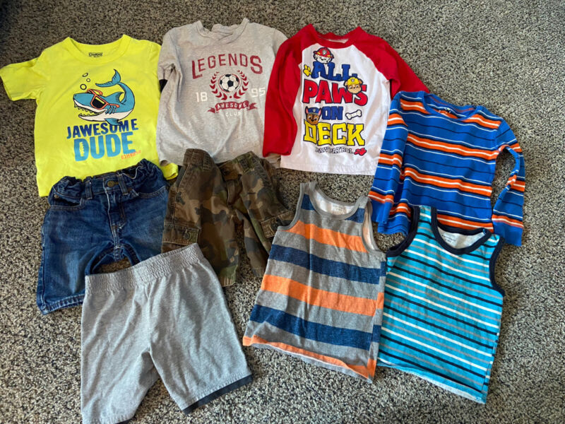 Boys 4T Clothing Lot