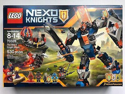 LEGO 70326 Nexo Knights The Black Knight Mech - New Sealed