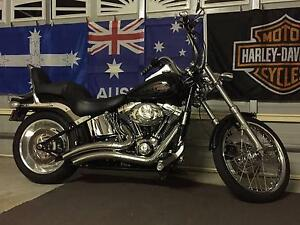 Harley Davidson Softail Custom FXSTC Bunya Brisbane North West Preview