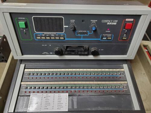 Dukane Compact 3200 Model 12A3200-25 Intercom School Unit PA System
