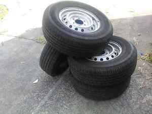 4 Set of Mazda BT-50 Tyres With Rims 255/70 R16 Pallara Brisbane South West Preview