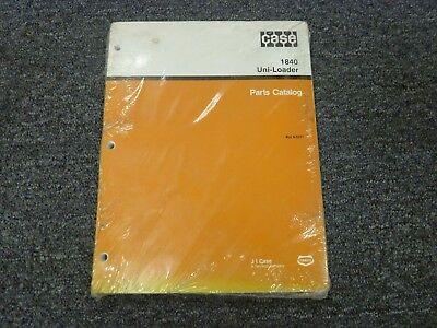 Case 1840 Uniloader Skid Steer Loader Parts Catalog Manual Bur 8-5371