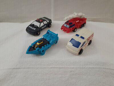 Transformers G1 Generation 1 Rescue Patrol Micromasters  Complete. Set of 4