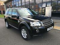 Land Rover Freelander 2 2.2Sd4 GS 23K 190bhp 4X4 Auto 2014 1 OWNER FSH LEATHER