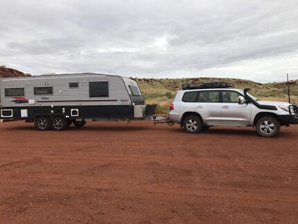 Landcruiser 200 and Vanguard 23.5 foot off road van
