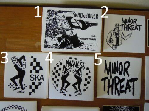 Vintage Punk Rock Ska Stickers Specials Sham Selecter Madness Operation Ivy MORE