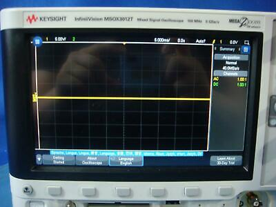 Keysight Agilent Hp Msox3012t 100 Mhz 216 Channel Mixed Signal Oscilloscope