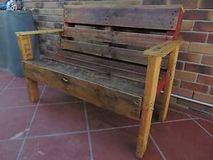 rustic pallet garden bench Coombabah Gold Coast North Preview