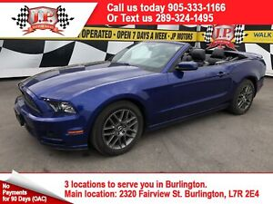 2013 Ford Mustang V6 Premium, Leather, Convertible, 105,000km