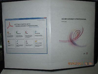 Adobe Acrobat Professional 8 Pc Windows   Mac