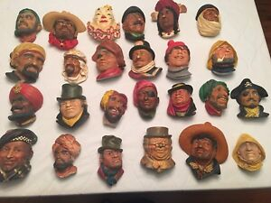 25 Bossons and Legends Vintage Heads