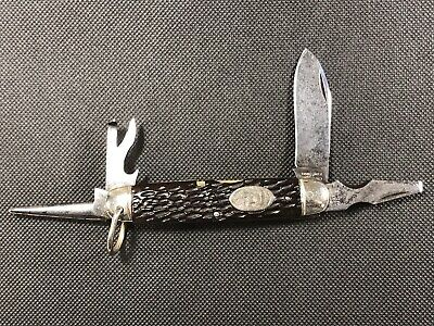 "New York Knife Co. Hammer Brand BB1 ""Buffalo Bill"" Scout Knife- RARE!"