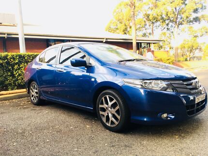 A classic and glossy Honda City to drive on Australian roads..!