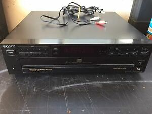 Sony tuner amp and cd player