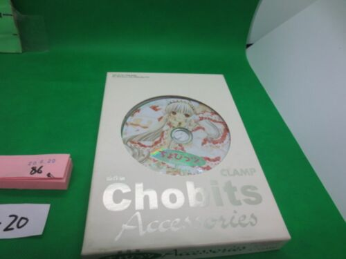 Chobits Clamp Japan Anime CD-Rom Accessories Windows 98/2000/Me/XP