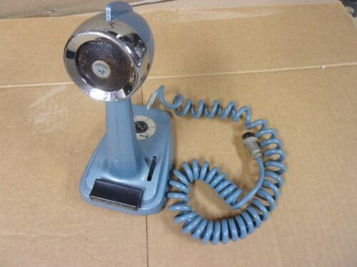 Vtg Turner +2 SSB Transistorized Microphone 4 Pin Desk Top Ham CB Base Station