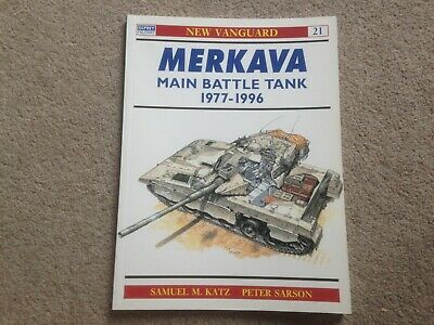 Osprey New Vanguard - Merkava Main Battle Tank 1977-96