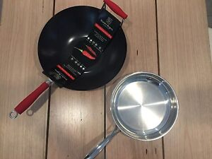 Wok and Saucepan Engadine Sutherland Area Preview