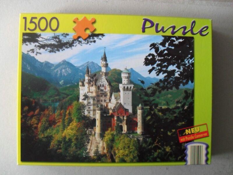 Puzzle 1.500 Teile -  Königsschloss Neuschwanstein