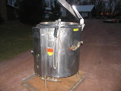 Groen Gas Steam Kettle 60 Gallons Model Ah1-60 Beer Bbq Chili Pasta Sauce Soup