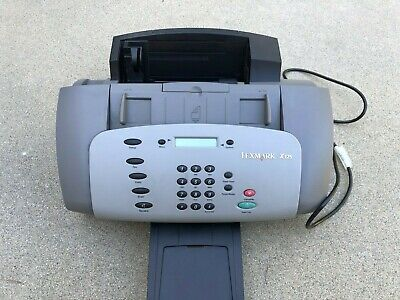 Lexmark X125 All In One Office Center Inkjet Printer Fax Working Condition