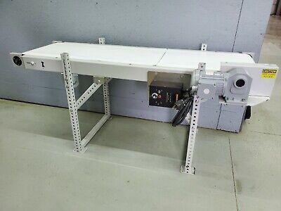 Variable Speed Power Belt Conveyor 120v Single Phase 64 X 18