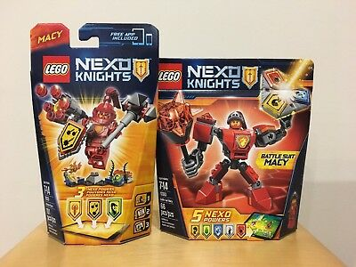 LEGO Nexo Knights 70331 70363 Ultimate Macy Battle Suit Macy NEW SEALED RETIRED