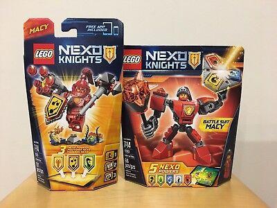 10 Lego Nexo Knights Lance Aaron Robin Globlin Steinstampfer Macy Merlok Krieger