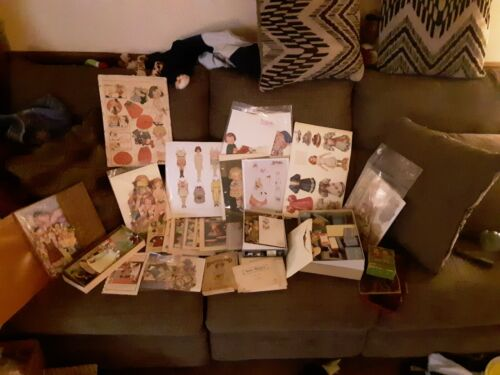 Vintage Lifetime Collection of Paper Dolls , Huge Lot ! Better Lot, Ships Free