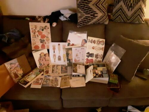Vintage Lifetime Collection of Paper Dolls , Huge Lot ! Better Lot, Ships Free
