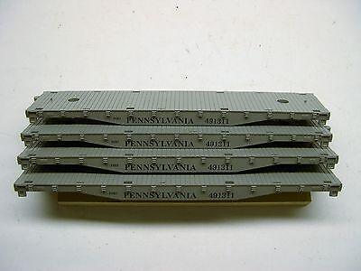 Lot of 4 Reproduction American Flyer Pennsylvania Flatcar Bodies