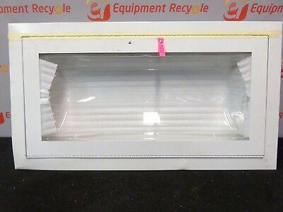 Fire Extinguisher Cabinet Acrylic Window Semi Recessed Steel 32x16 New
