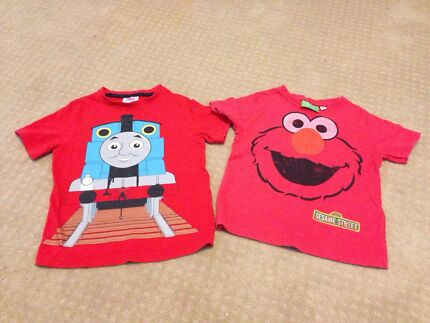 Thomas the rank and elmo T-shirt size 2-3 Hamersley Stirling Area Preview