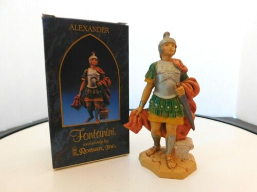 """Fontanini Italy """"Alexander"""" 5 inches Figurine with Box & Card"""
