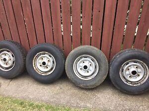 """14"""" tires P215/75R14 rialta"""