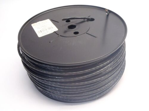 GCC 25008132 General Cable Corporation Black Stranded THHN Wire 450 FT