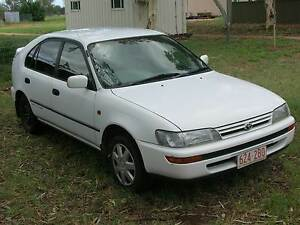 1995 Toyota Corolla Hatchback AE102R 5-sp manual 1.8L Alice Springs Alice Springs Area Preview