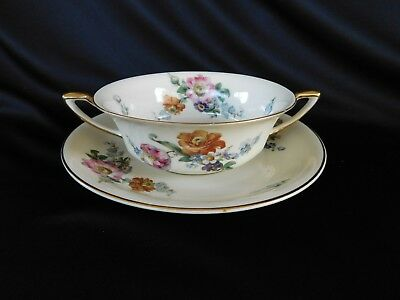 AS-IS Rosenthal Continental Gardenia CREAM SOUP BOWL and