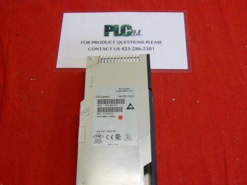 140CPU11302 TESTED Modicon Quantum CPU 140-CPU-113-02