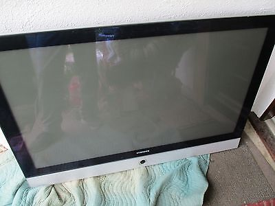 "SAMSUNG FLAT SCREEN HP-R5052 HP R5052 HPR5052 SR50P5 USED 50"" 50 INCH PLASMA TV"