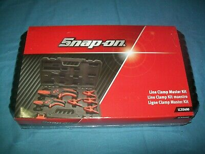 New Snap-on™ Lcss600 6-piece Line Clamp and Stopper Set Sealed