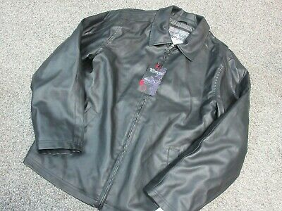 Whispering Smith MENS Medium Faux Leather Jacket NEW WITH TAGS!