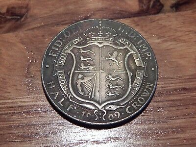 1909 1/2 half Crown  Rare Coin 2/6 king edward VII commemorative issue esc 754