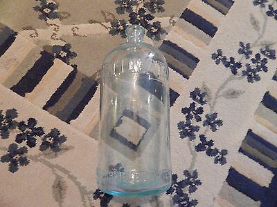 DISTILLATA Vintage 1/2 Gallon Glass Water Bottle CLEVELAND